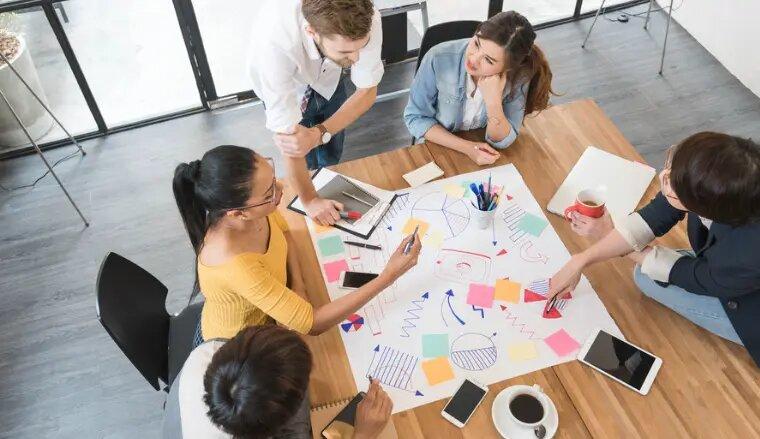 Travail collaboratif : un axe décisif pour le management et la transformation